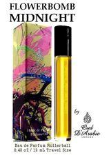 FLOWERBOMB MIDNIGHT  PURE PERFUME OIL 12ML PREMIUM QUALITY ALTERNATIVE NEW BOXED
