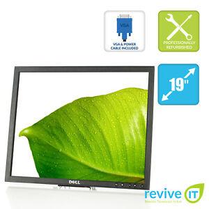 "Dell Professional P190S Black 19"" 1280x1024 5:4 LCD Monitor ONLY DVI VGA Grade B"