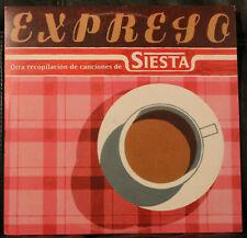 "10"" EXPRESO  Siesta Compilation  1997  pink vinyl  Free Design  Louis Philippe"