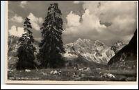 Allgäu Bayern  Postkarte ~1935/40 Die Wilden im Oytal bei Oberstdorf ungelaufen