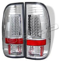 Ford F150 Styleside 97-03 F250 350 450 550 Super Duty 99-07 LED Tail Lights Chro