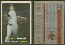 (7139) 1957 Topps 95 Mickey Mantle Yankees-GD