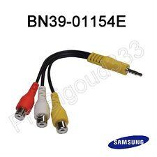 BN39-01154E,  ADAPTATEUR  jack 3,5 mâle / 3 RCA femelles ( composite + stéréo )