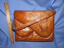 Vintage Alligator Pocket Book Handbag