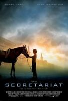 SECRETARIAT - COLORFUL 27X40 INCH HORSE RACING POSTER FROM THE MOVIE!