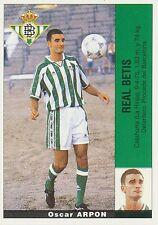 ARPON # ULTIMOS FICHAJES REAL BETIS STICKER CROMO PANINI LIGA 1996 ESPANA