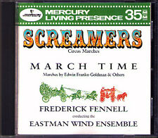 Frederick FENNELL Screamers & March Time Circus Days MERCURY LIVING PRESENCE CD