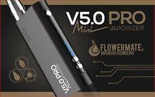 Flowermate V5.0 Pro Mini Vaporizer Verdampfer Kräuter Öl schwarz