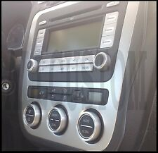 VW GOLF 5 V ENTOURAGES ALU CERCLAGES BOUTONS AERATION VENTILATION CLIMATISATION