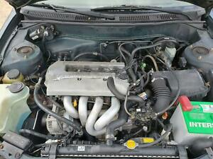 98 1999 Toyota Corolla Engine Assembly 1.8L 1ZZFE Runs Good Lot Drove