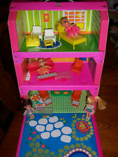 VTG COLLECTOR '60 4 Liddle Kiddles DOLLS 3-STORY HOUSE KIDDLE  Accessories PCS