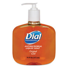 Dial Professional Gold Antimicrobial Soap Floral Fragrance 16oz Pump Bottle