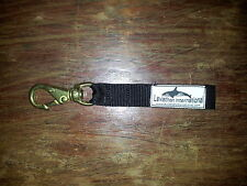 SWIVEL NAVAL BRONZE SNAP HOOK ( SIZE 1 ) with WEBBING.