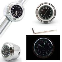 Waterproof Motorcycle Motorbike Accessories Luminous Handlebar Mount Clock Watch