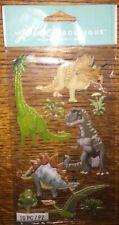 Jolees Dinosaurs Stegosaurus Triceratops Brontosaurus Rex Stickers Scrapbook 3D