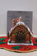 Party Lite Gingerbread House Candle Tealight Holder New In The Original Box