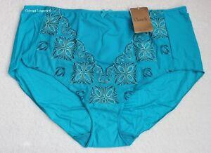 "NWT Chantelle 2603 ""Elysées"" Tummy Support Evolutive Brief Panty Turquoise, Plus"
