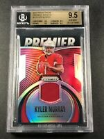 KYLER MURRAY 2019 PANINI PRIZM #1 PREMIER JERSEY SILVER ROOKIE RC ALL BGS 9.5