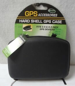 """Hard Shell GPS Carry Case Zipper Pouch For 3.5"""" & 4.3"""" GPS Devices  & etc.   -10"""