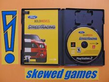 Ford Bold Moves Street Racing - cib - PS2 PlayStation 2 Sony