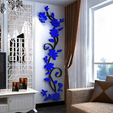 3D Flower Removable Vinyl Quote DIY Wall Sticker Decal Mural Home Room Decor RF