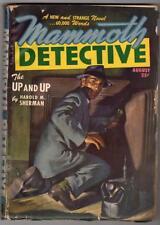 Mammoth Detective  Aug  1947  Safe cracker Cvr