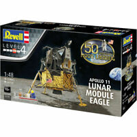 REVELL Gift Set Apollo 11 Lunar Module Eagle 1:48 Space Model Kit 03701