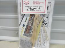 SS - LTD # 1155 ~ BILLBOARDS OF THE 1920'S ~ STYLE # 2 ~ KIT ~HO SCALE