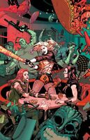 SUICIDE SQUAD #45 DC COMICS Lupaccino Variant COVER B SINK ATLANTIS PART 1