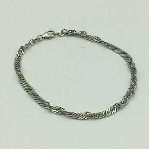 925 Silber - Armband - L: ca. 19 cm
