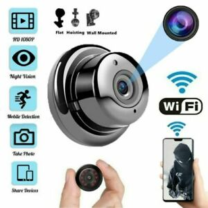 1080P WiFi Security Camera Monitor Baby Pet Home Cam to Video Smartphone App UK