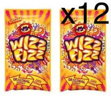 Wizz Fizz Original Sherbet Sachets - 12 x 12.5g | Bulk Candy Lollies | Sherbert