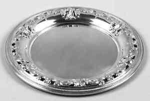 Wallace Silver Grande Baroque  Pierced Bread & Butter Plate 7516642