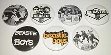 7 Beastie Boys button Badges punk Hip Hop Licence to ill communication Run Dmc