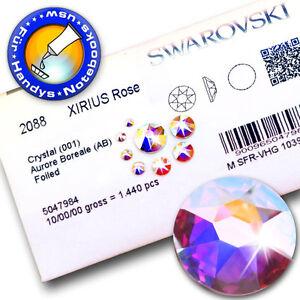 Swarovski 2088 XIRIUS KEIN Hotfix, Crystal AB (Strass-Steine) Größen-/Stückwahl