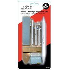 Jakar artistas Dibujo Companion Set 9 Piezas tortillon Stump Masilla De Caucho - 9028