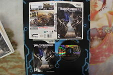 Transformers the Game, Wii Tested USED