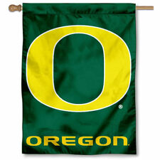 Oregon Ducks House Flag