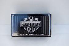"NIB, Harley Davidson 1:18  Die Cast Metal 1999 FLSTF ""FATBOY"" Collectable Motorc"