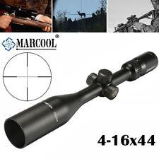 MARCOOL ALT 4.5-18X44 Rifle Scope SFP Optiacl Sight Reticle Hunting Sunshade MIL