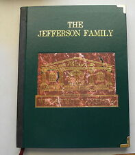 THE JEFFERSON FAMILY - WHO'S WHO IN AMERICA - GENEOLOGY - LESS THAN 100 PRINTED