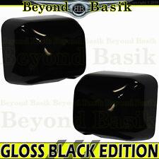 2007-2017 JEEP WRANGLER JK GLOSS BLACK Mirror COVERS Overlay