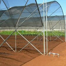 Cerbior 50% Uv Sunblock Shade Cloth Cover Garden Plant Greenhouse 10X20ft Black