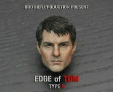 "Edge of Tomorrow Tom Cruise 1/6 Scale Male Head Sculpt Model For 12"" Figure Toy"