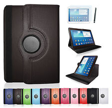 Flip Case Samsung Galaxy Tab 3 10.1'' 360° Schutzhülle Cover Tasche Etui + Folie