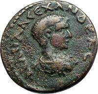 SEVERUS ALEXANDER as CAESAR Parium Mysia Ancient Roman Coin CAPRICORN i79979