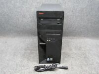 Lenovo ThinkCentre M55 Tower PC Intel Core 2 Duo 6300 1.86GHz 4GB RAM 250GB HDD