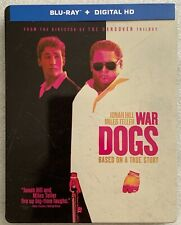 WAR DOGS BLU RAY TARGET EXCLUSIVE STEELBOOK FREE WORLD WIFR SHIPPING BUY IT NOW