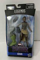 "Marvel Legends Shuri 6"" Avengers Black Panther Action Figure Hasbro Brand New"