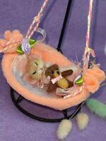 Needle Felted  Mouse  Handmade Animal Teddy Doll Mice Gift Ooak